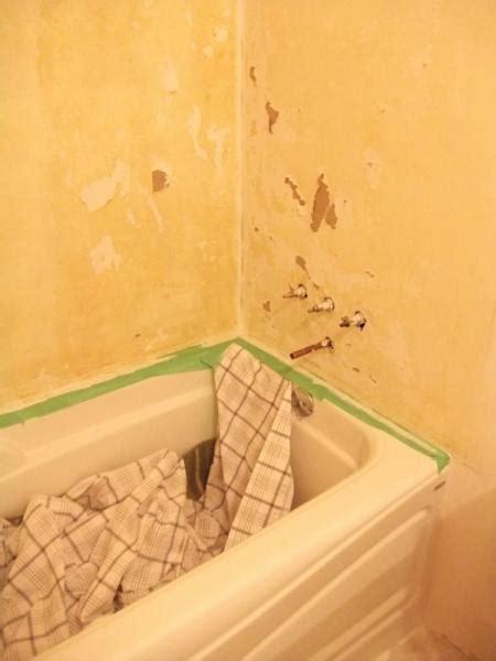 nightmare tub surround bathroom doityourselfcom