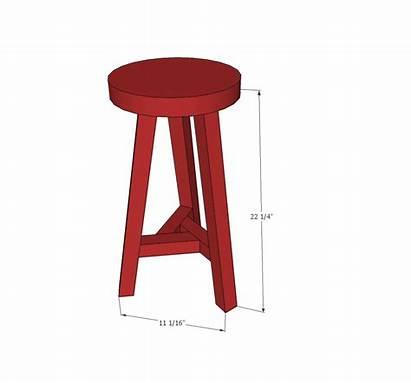 Stool Legged Three Ana Woodworking Projects Dimensions