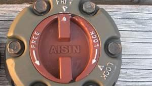 Aisin Ifs Manual Locking Hubs    Sold