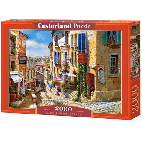2000-delna sestavljanka Saint Emilion, Francija - Castorland nakupovanje v IgračeShop