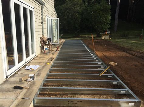 deck footing spacing australia how to install wood or composite deck tiles loversiq
