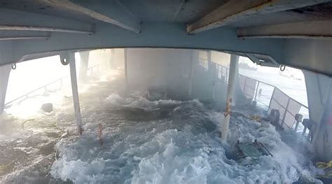 Boat Sinking Gopro by Wondered What It S Like To Be Inside A Sinking Ship