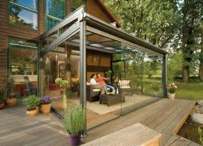 20 beautiful glass enclosed patio ideas roof covering