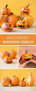 Halloween Kürbis Bemalen : witziges halloween diy f r kinder mandarinen als k rbisse bemalen easy halloween diy for kids ~ Eleganceandgraceweddings.com Haus und Dekorationen