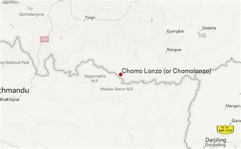 Chomo Lonzo (or Chomolonzo) Mountain Information