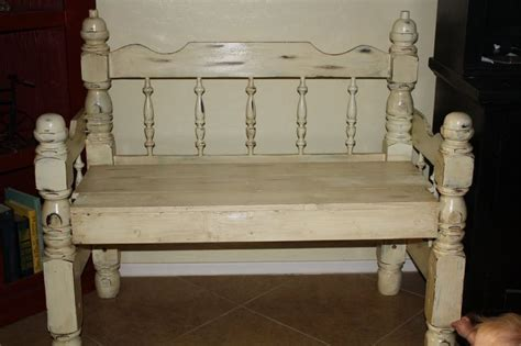 Where Can I Buy A Headboard For My Bed by Finished My Bench Made From Headboard Footboard And I Am