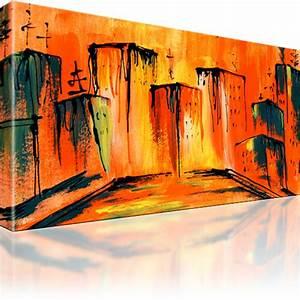 Abstrakte Bilder Leinwand : abstrakte stadt bilder wandbild leinwand ebay ~ Sanjose-hotels-ca.com Haus und Dekorationen