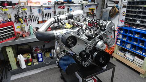 Fuel Injected Procharger Crate Engine