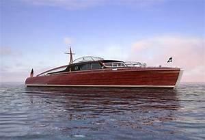 Famed Mahogany Commuter Posh Inspires Megayacht Tender