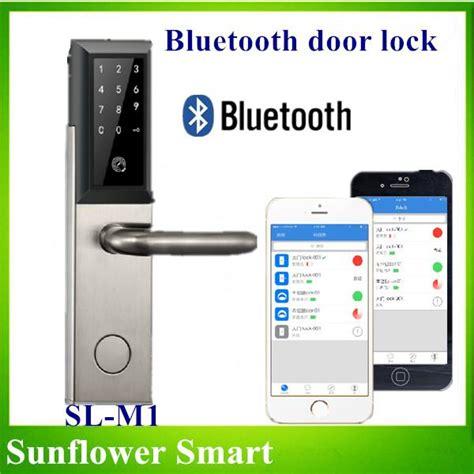 best bluetooth door lock bluetooth door danalock integrated smartlock for