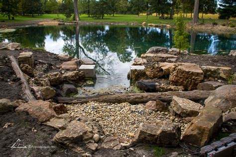 Pond Aquascape by Farm Pond Aquascape Construction