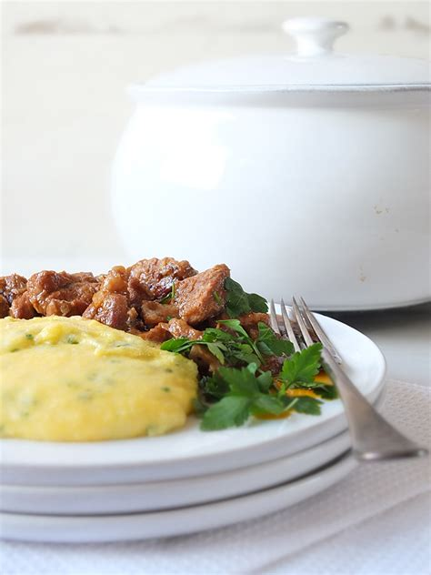 slow cooked shetland lamb casserole  creamy herbed