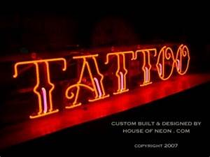CUSTOM TATTOO NEON SIGN INK NEON SIGNS Family Trade