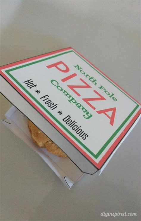 elf   shelf pizza box template diy inspired