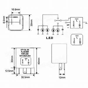 3 Pin Flasher Unit Wiring Diagram