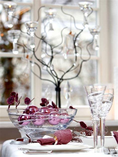 decoration de table elegante  originale pour la fete de noel