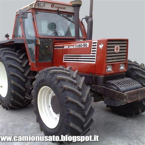 Cabine Per Trattori Agricoli Usate Fiat Agri 140 90 Dt Trattore Agricolo 4 215 4 Con Cabina