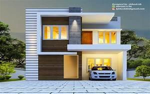 2020, Square, Feet, Double, Floor, Contemporary, Home, Design