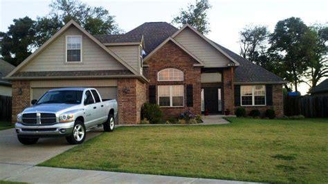 brick ranch house color schemes exterior house