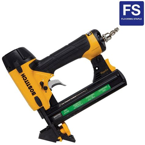 flooring stapler bostitch 18 gauge flooring stapler ehf1838k on popscreen