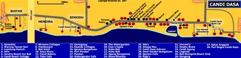 map  candi dasa bali blog