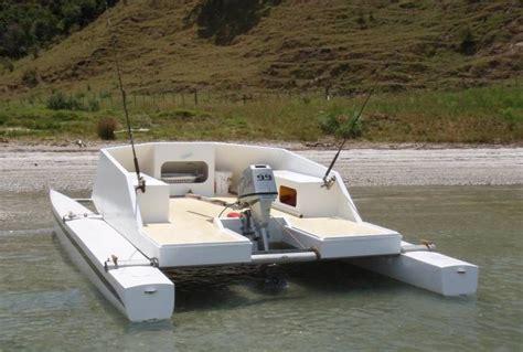 Small Fishing Boats Plans by Small Catamaran Boat Plans Tekne Sailing