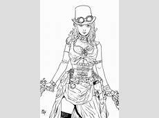 Steampunk girl pinup by Dogsupreme on DeviantArt