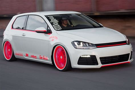vw golf 7 tuning vw golf vii tuning low car und blackbox richter bilder autobild de