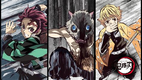 anime demon slayer kimetsu kimetsu  yaiba wallpapers