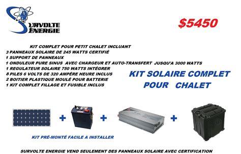 kit solaire pour chalet kit pour chalet 201 lectricit 233 pour chalet hors r 233 seau conception r b o pac