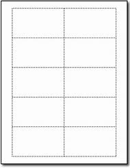 Free Blank Business Card Templates Word