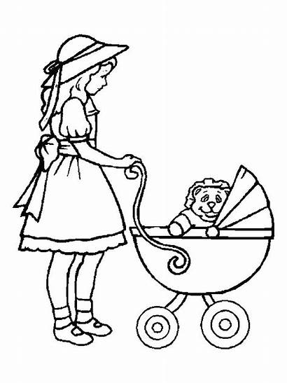 Barbie Drawing Doll Coloring Pages Games Clipartmag