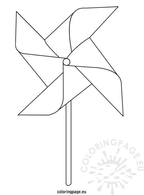 pinwheel coloring page coloring page