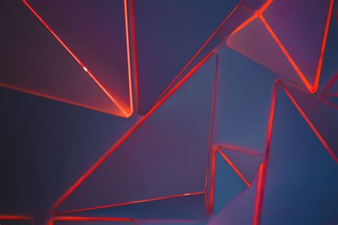 abstract shape light red