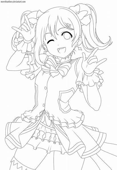 Nico Nii Anime Drawings Manga Deviantart Lineart