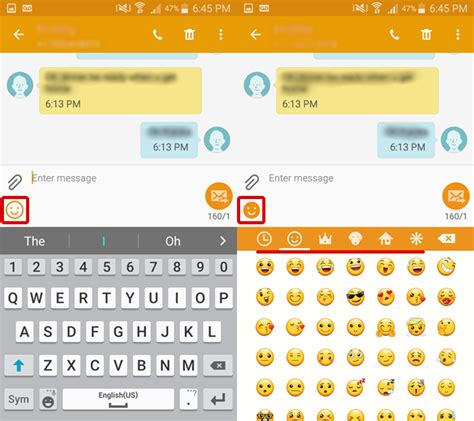 Emojis On Samsung Galaxy S3 Database Of Emoji