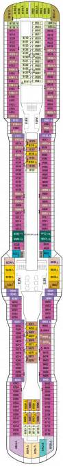 Anthem Of The Seas Deck Plan 12 by Anthem Of The Seas Owner Loft Suite Category
