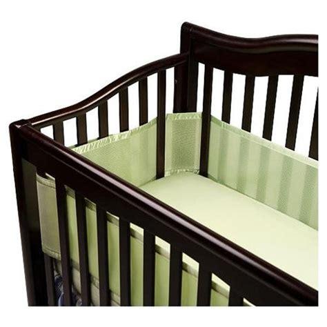 safe crib bumpers weecare warning crib bumper pads