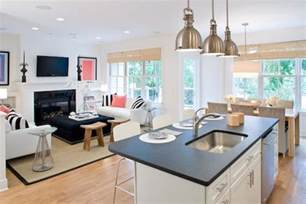 living kitchen ideas building our home open living kitchen designs