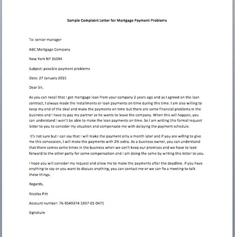 sample letter  mortgage company  submitting enclosed