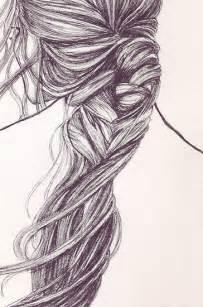 French Braid Sketch