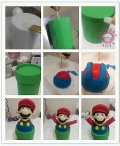 Super Mario Deko : super mario figurine pt 2 tutorial mario cake pinterest ~ Frokenaadalensverden.com Haus und Dekorationen