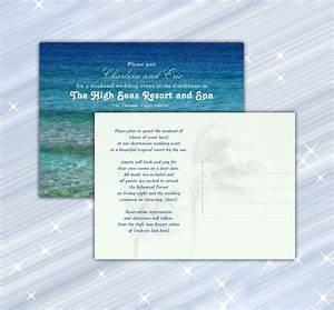 how to word destination wedding announcement cards With wedding destination invitation samples wordings