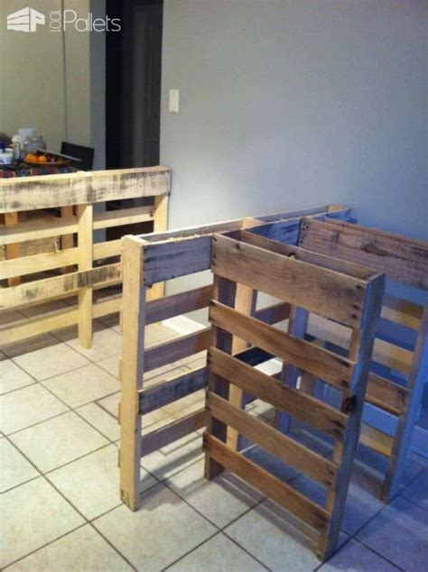 pallet kitchen island  pallets