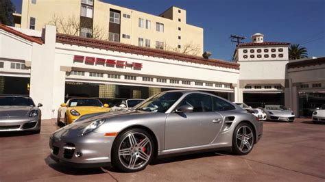 2007 Porsche 911 Turbo Coupe 3.6 Gt Silver Black Beverly