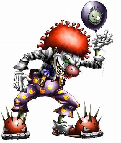 Clown Evil Clowns Creepy Scary Tattoo Jester