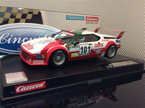 Carrera D124 23842 Bmw M1 Procar Racing #101 Slot Car