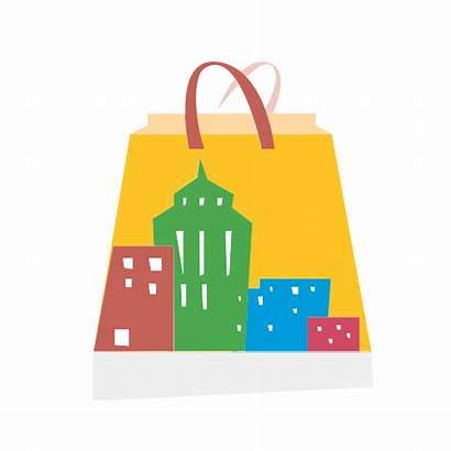 Shopping Center Bag Graphicsprings