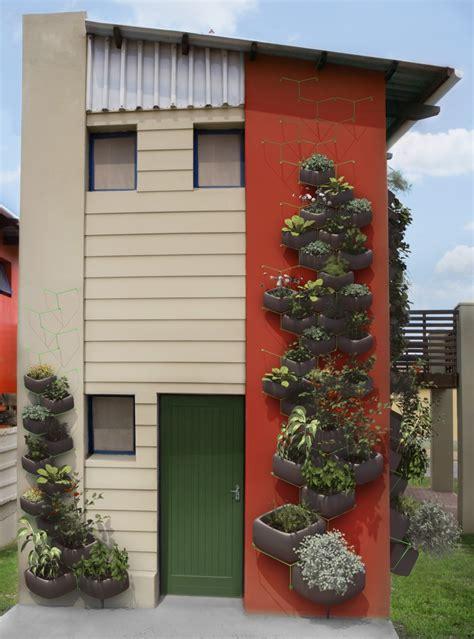 Vertical Gardening System by Haldane Martin Wallflower Vertical Garden System