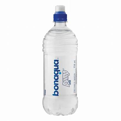 Bonaqua Pump Still 750ml Water Checkers Bottle
